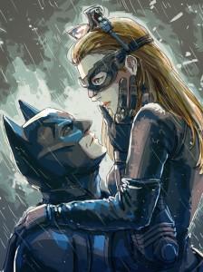 Batman & Catwoman AKA Bruce Wayne & Selina Kyle