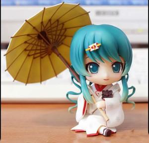 Nendoroid Snow Miku: Strawberry White Kimono Ver.