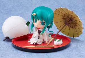 Nendoroid Snow Hatsune Miku Strawberry White Kimono Ver.