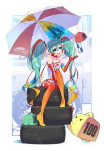 Racing Miku 2016 Ver. (disegno)